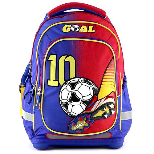 Školní batoh Goal modro-červený Gool
