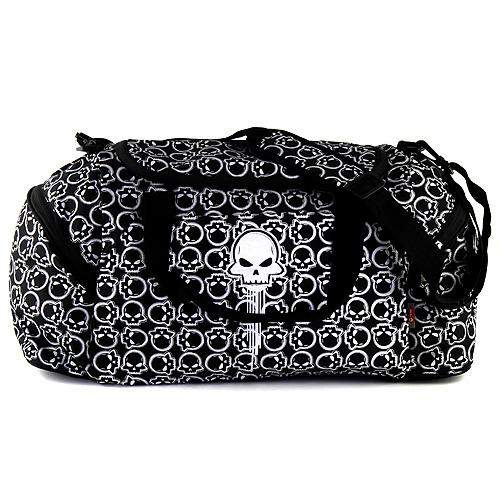 Cestovní taška Target motiv lebky