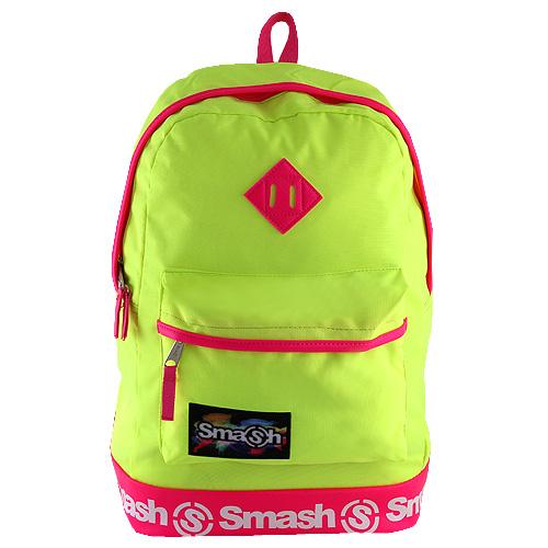 Studentský batoh Smash neonová žlutá