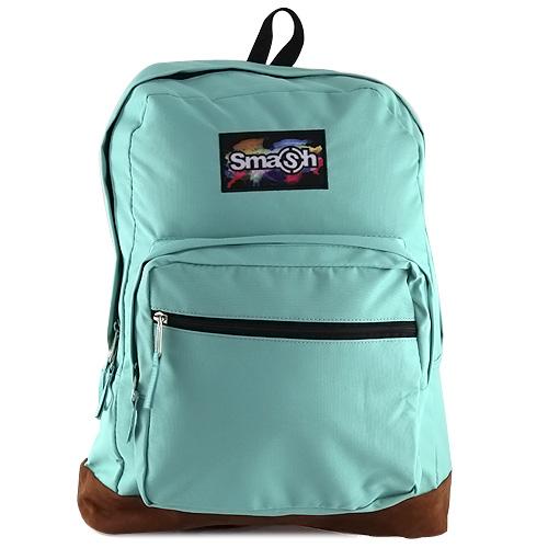Studentský batoh Smash pastelově zelený