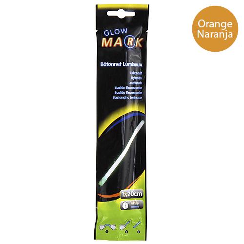 Svítící proužek Glow Mark 20x1cm, oranžový
