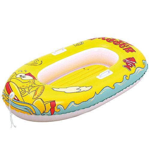 Nafukovací člun Bestway žlutý, 137x89cm
