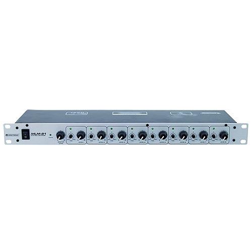 Mixážní pult Omnitronic Omnitronic MLM-81, mixážní pult pro 8x mikrofon