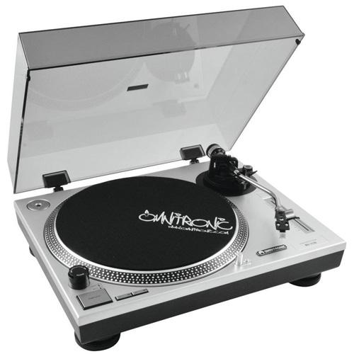 Gramofon Omnitronic Omnitronic BD-1550 stříbrný