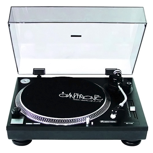 Gramofon Omnitronic Omnitronic BD-1320, gramofon, černý