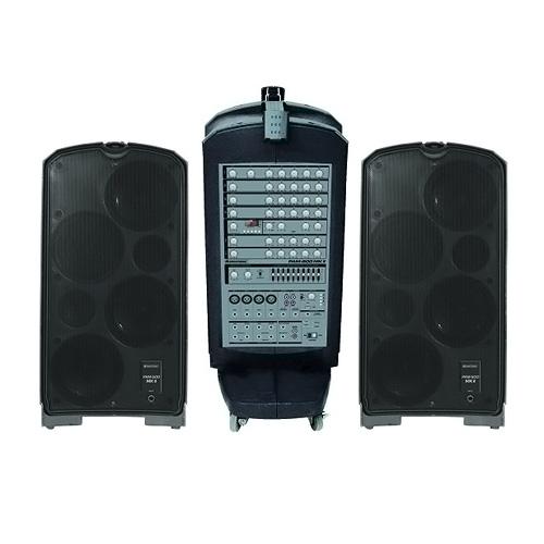 Zvukový systém Omnitronic Černý, aktivní