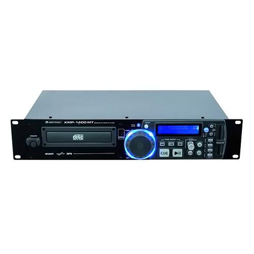 Přehrávač Omnitronic Omnitronic XMP-1400 MT, CD/MP3 přehrávač