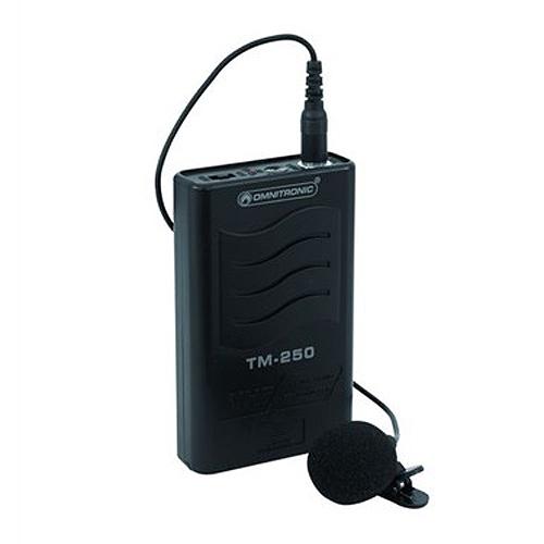Přenosný vysílač Omnitronic Omnitronic TM-250 VHF 179.000