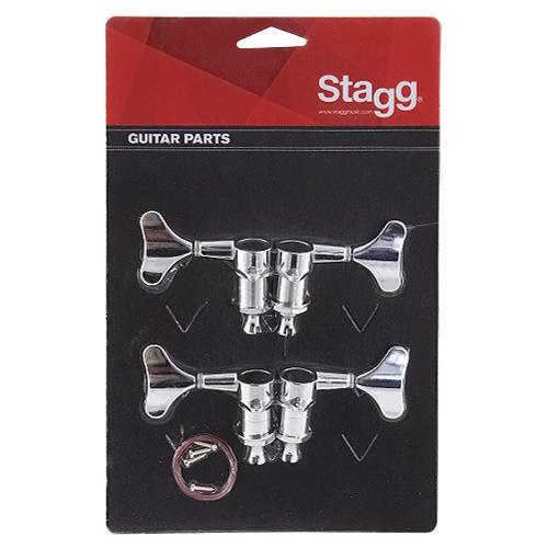 Ladící mechanika Stagg uzavřená typu die-cast