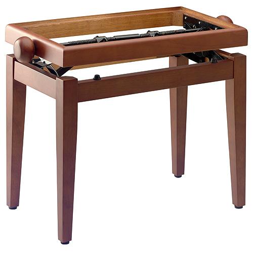 Stolička ke klavíru Stagg výška 55cm, třešňová matná