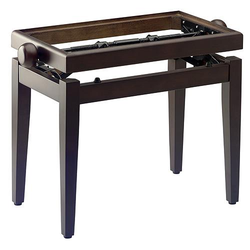 Stolička ke klavíru Stagg barva tmavý ořech