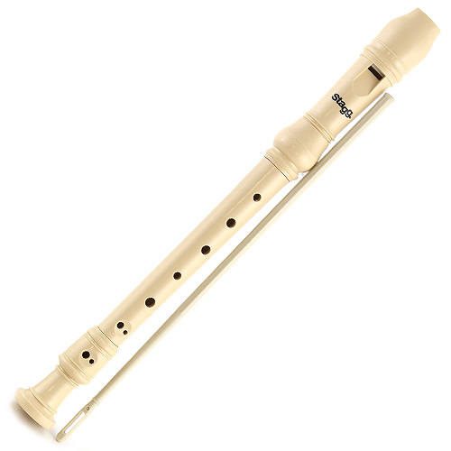Zobcová flétna Stagg barokní prstoklad