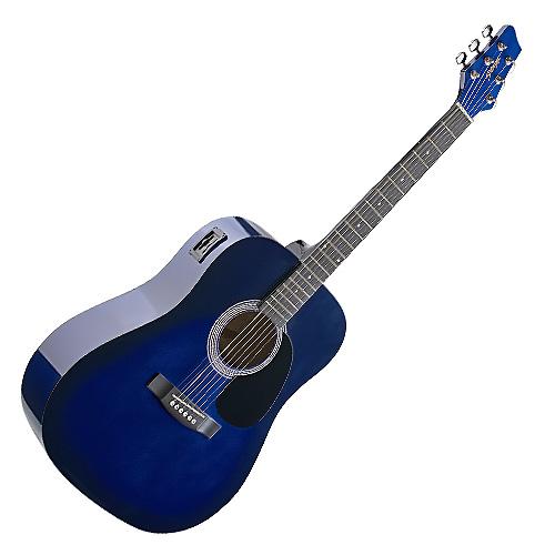 Elektro-akustická kytara Stagg typu Dreadnought