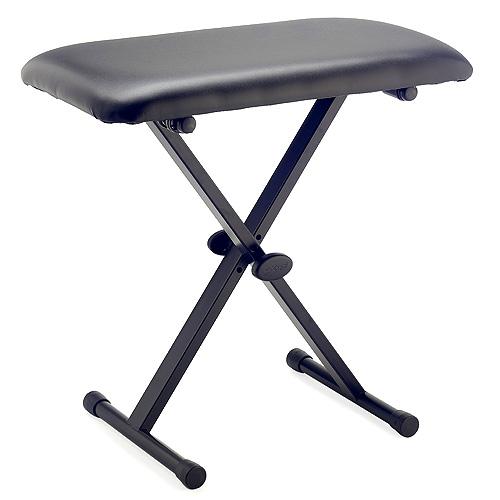 Stolička ke klávesám Stagg výška 60cm, černá