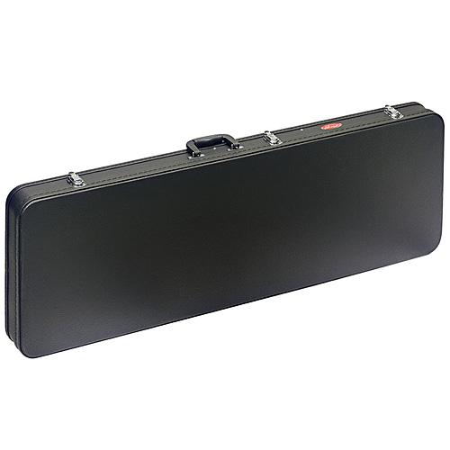Kufr pro basovou kytaru Stagg čtyřhranný, černý vinyl
