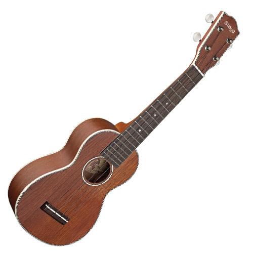 Fotografie Sopránové ukulele Stagg přírodní matný lak
