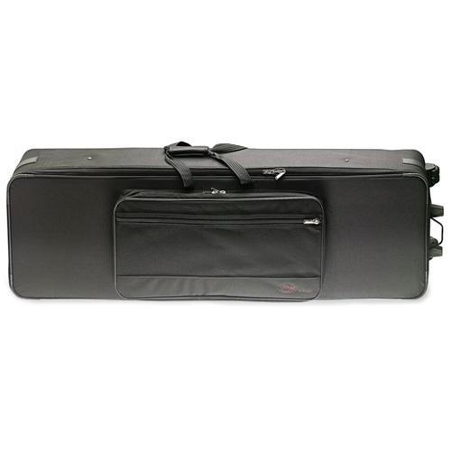Fotografie Kufr pro klávesy Stagg 129,4 x 46,3 x 15,7 cm, nylonový, černý