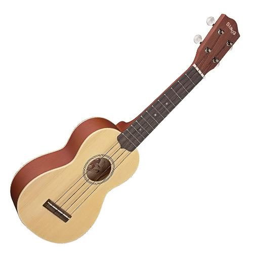 Fotografie Sopránové ukulele Stagg přírodní barva