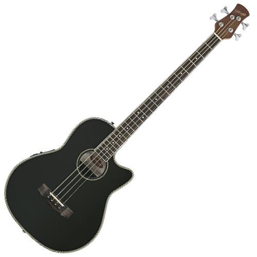 Elektro-akustická baskytara Stagg typ Ovation