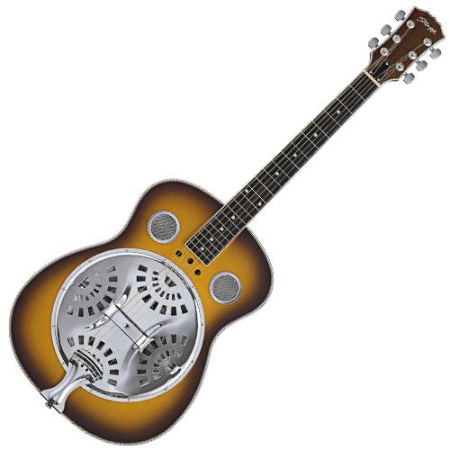 Rezofonická kytara Stagg dřevěná