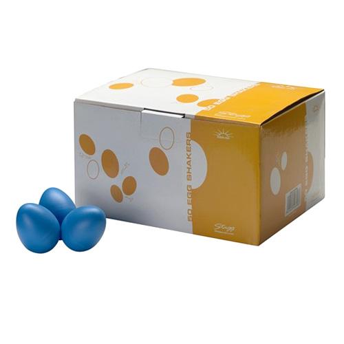 Shaker vajíčka Stagg Stagg EGG-50 BLM, 50ks vajíček, modré
