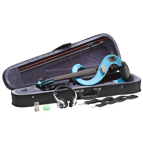 Elektrická viola Stagg velikost 4/4, s kufrem a příslušenstvím
