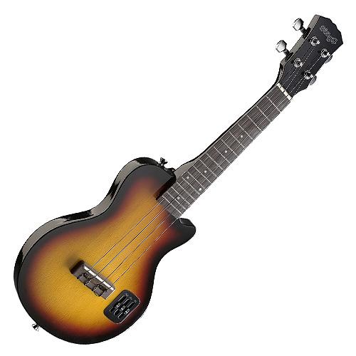 Elektrické ukulele Stagg typu LesPaul
