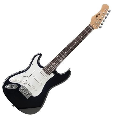 Elektrická kytara Stagg typu 3/4, levoruká