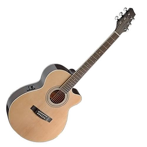 Elektro-akustická kytara Stagg Stagg SA40MJCFI-N, elektroakustická kytara