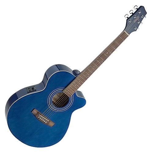Elektro-akustická kytara Stagg typu MiniJumbo