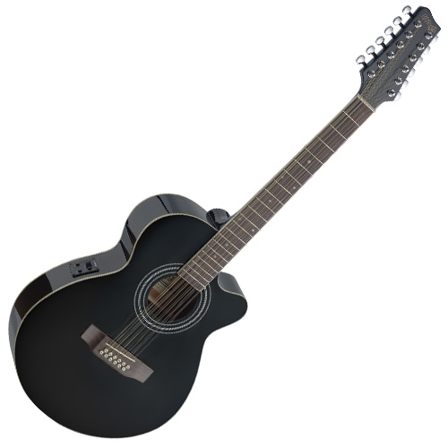 Elektro-akustická kytara Stagg typ Mini Jumbo