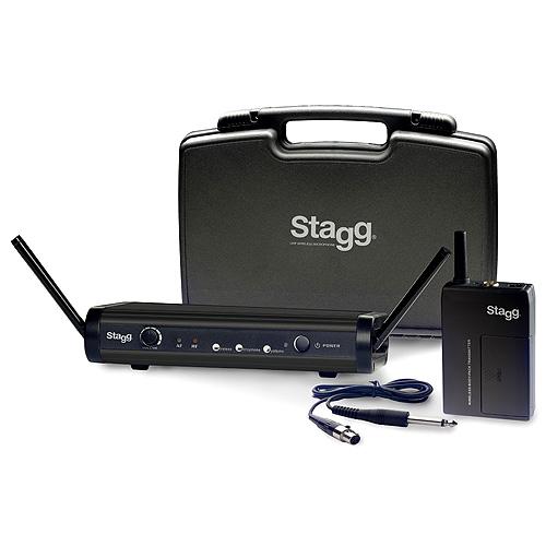 Bezdrátový set Stagg pro kytaru a baskytaru