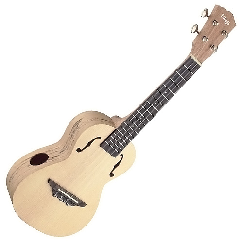 Fotografie Koncertní ukulele Stagg barva přírodní lesklá