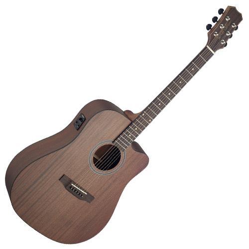 Elektro-akustická kytara James Neligan typu Dreadnought