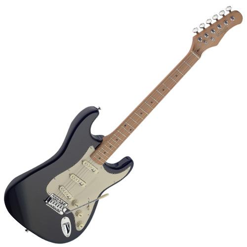 Elektrická kytara Stagg typu Strat