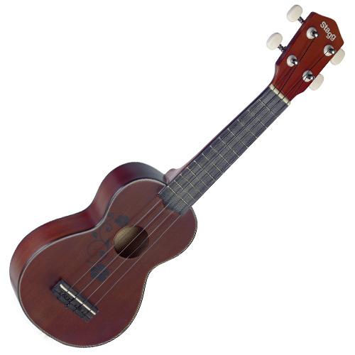 Sopránové ukulele Stagg Stagg US20 FLOWER, sopránové ukulele