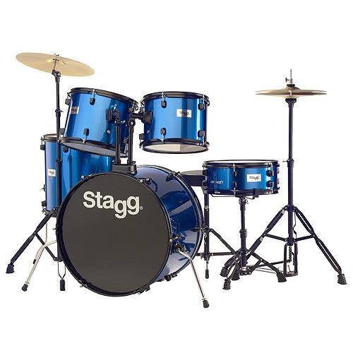 Bicí sada Stagg Stagg TIM122B BL, bicí sada, modrá