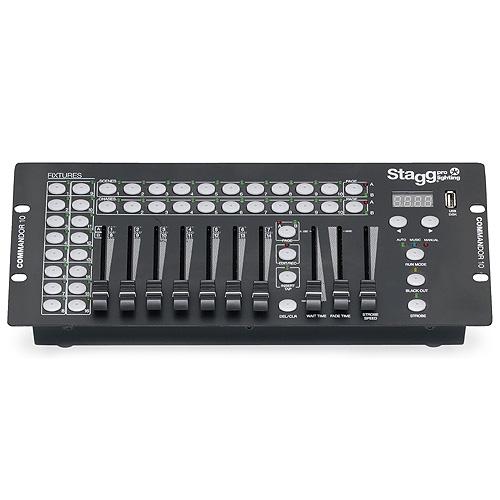 Světelný kontrolér Stagg 14 kanálů