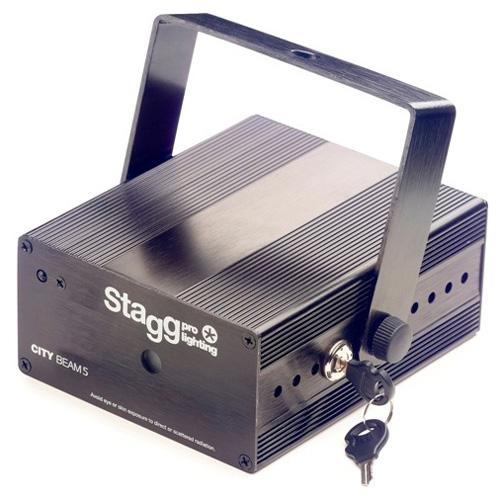 Laser Stagg Stagg Laser CITY 140mW Twinkle, černý