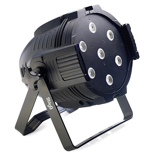 Reflektor Stagg 7ks diod/10W, černý