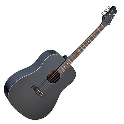 Akustická kytara Stagg Stagg SA30D-BK, akustická kytara