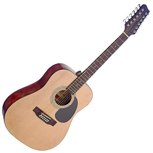 Akustická kytara Stagg typ Dreadnought