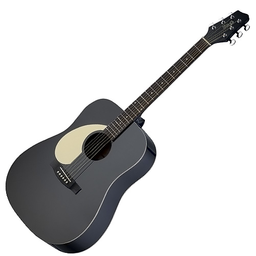 Akustická kytara Stagg levoruká, typu Dreadnought
