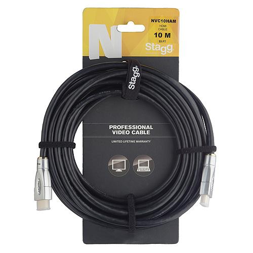Propojovací kabel Stagg délka 10m, HDMI