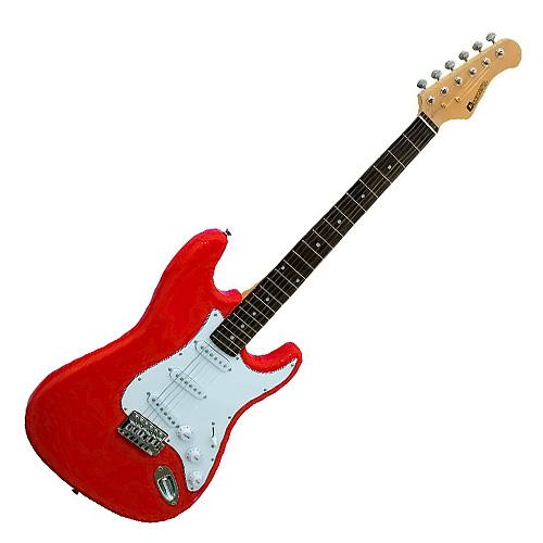 Elektrická kytara Dimavery Dimavery ST-203, elektrická kytara, červená