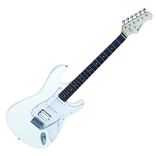 Elektrická kytara Dimavery Typ Strat, bílá