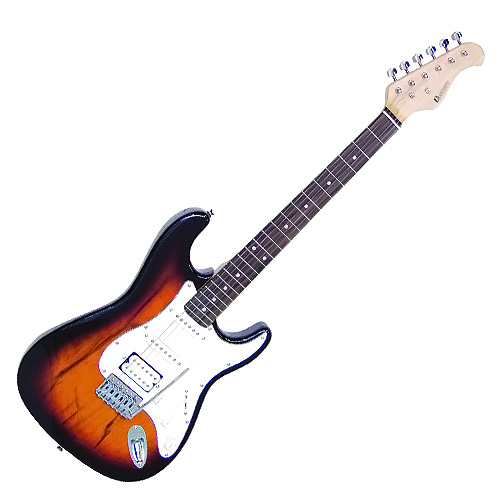 Elektrická kytara Dimavery Typ Strat , sunburst