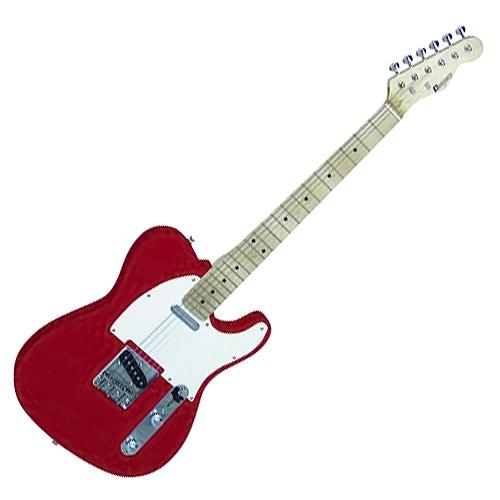 Elektrická kytara Dimavery Dimavery TL-201 el. kytara, červená