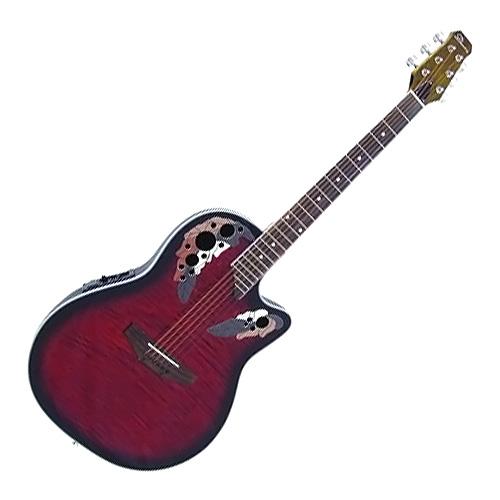Elektro-akustická kytara Dimavery Typ Ovation