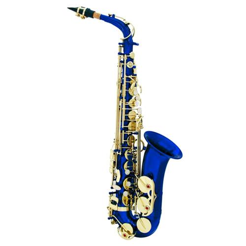 Fotografie Saxofon Dimavery Dimavery SP-30 Es alt saxofon, modrý